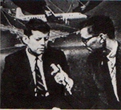 With JFK in 1957
