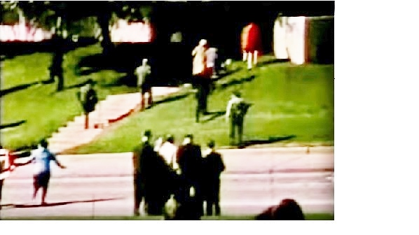 Bell film. In red.