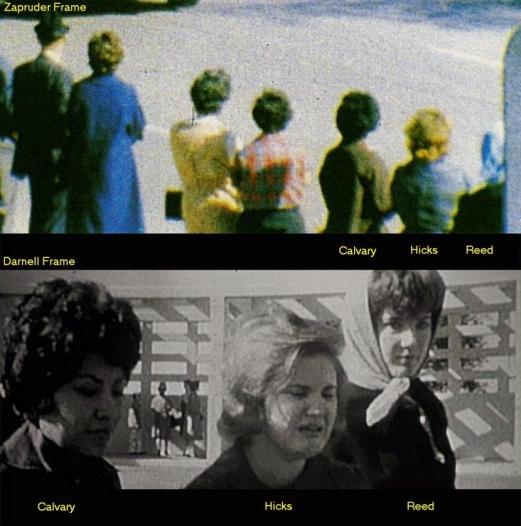 Darnell and Zapruder films-Women in them