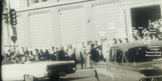 Wiegman-People in front of TSBD 3