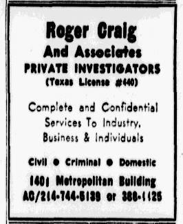 Craig PI Nov 14, 1971