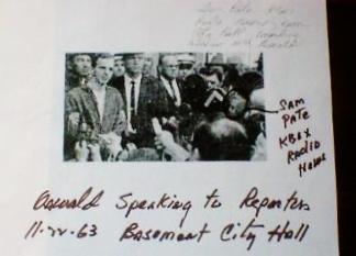 Pate, Sam -Oswald Press Conference