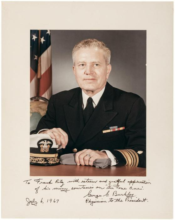 Burkley, George G.