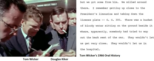 Douglas Kiker and Tom Wicker