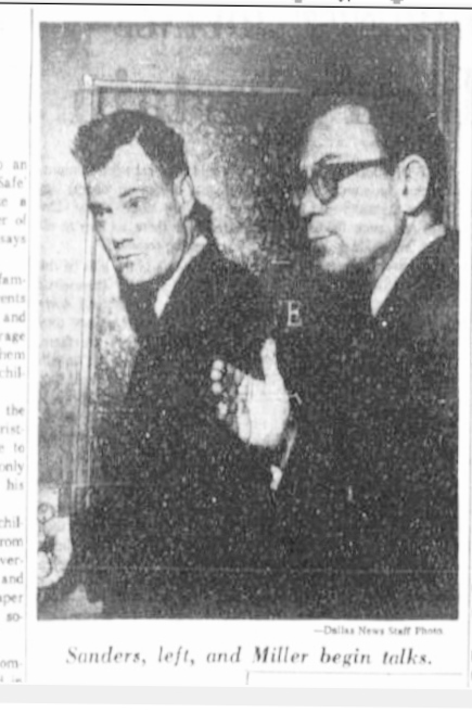 Sanders, Barefoot and Miller, Jack-DMN, Nov 25, 1963